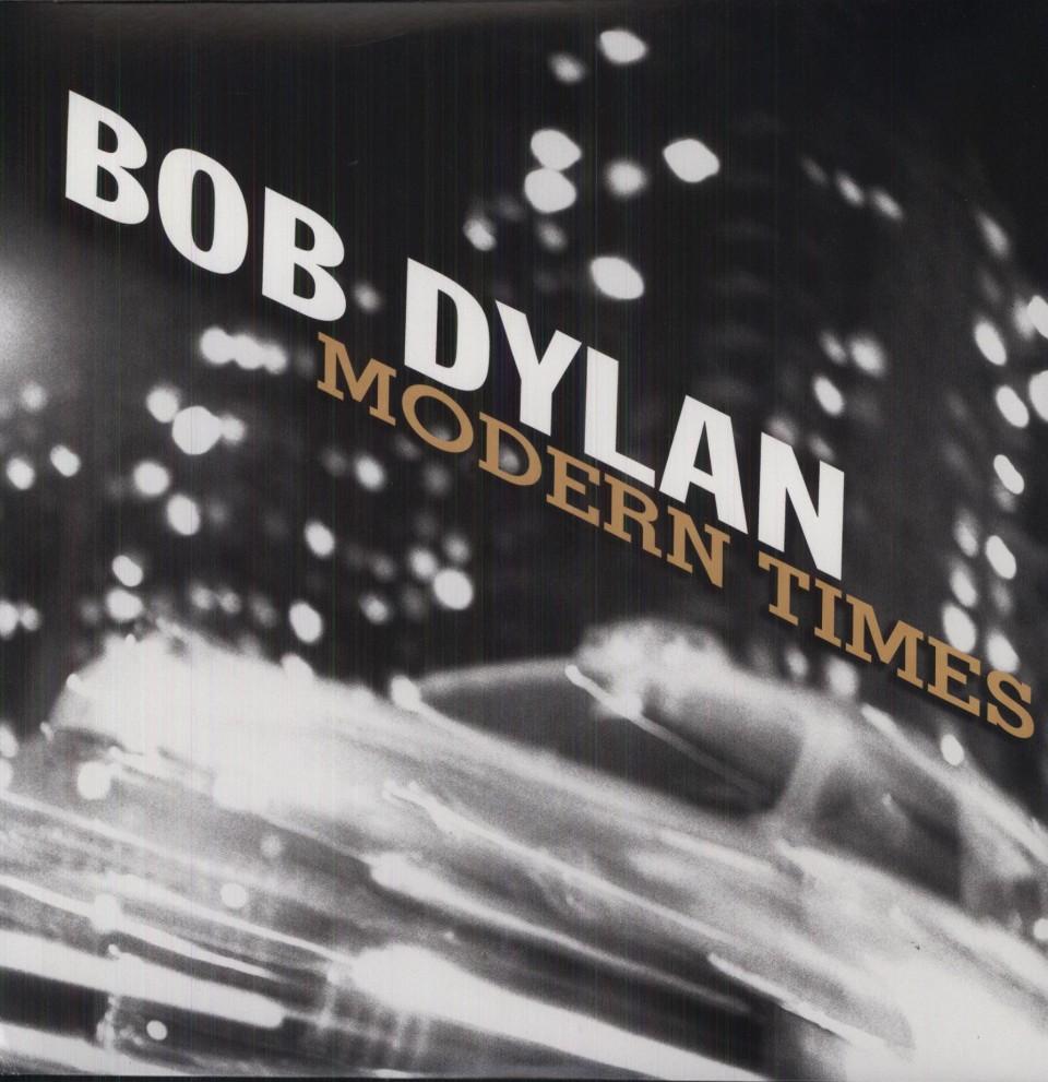 """עטיפת האלבום """"Modern Times"""" של בוב דילן"""